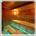 sauna finlandais et infrarouge